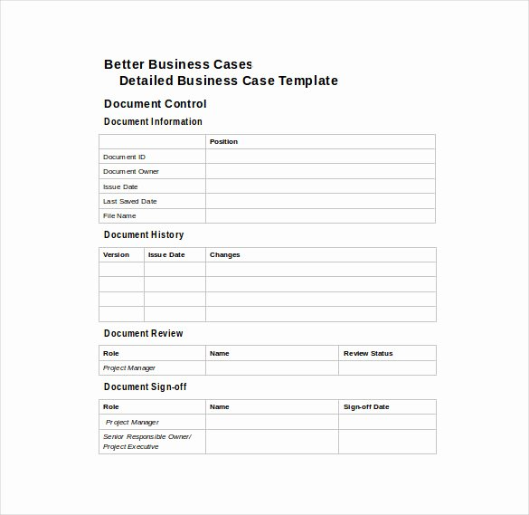 Business Case Template Excel Fresh Simple Business Case Template Excel Mexhardware
