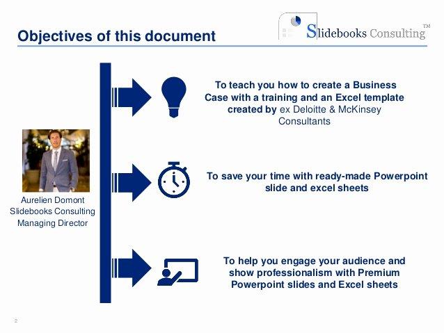 Business Case Template Excel Unique Simple Business Case Template