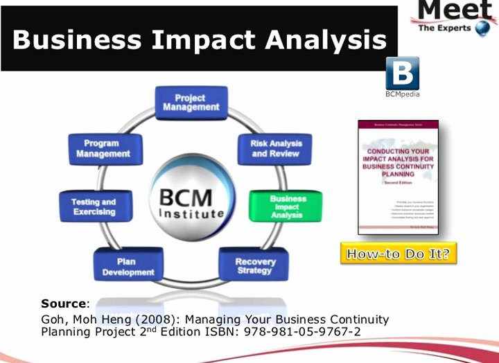 Business Impact Analysis Template Excel Elegant Business Impact Analysis Template Trainingable