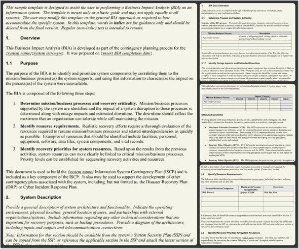 Business Impact Analysis Template Inspirational Business Impact Analysis Template Word Pdf format