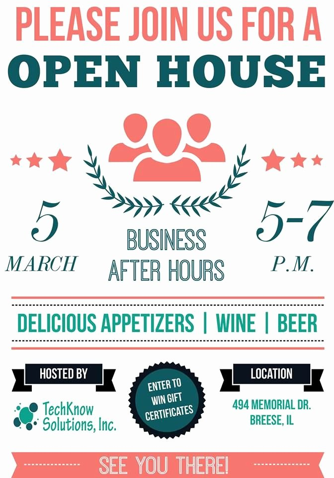 Business Open House Flyer Awesome 17 Best Images About Ad Design On Pinterest