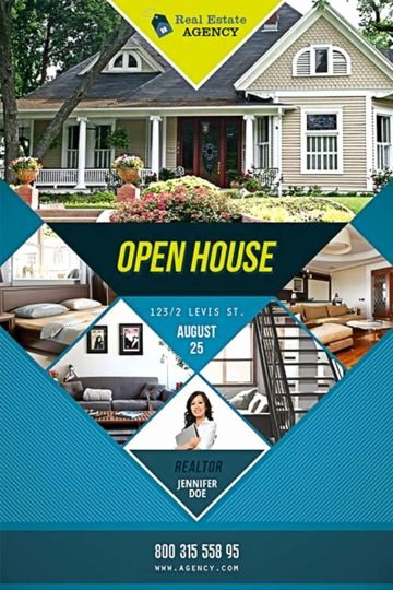 Business Open House Flyer Beautiful Download the Best Free Real Estate Flyer Templates for Shop