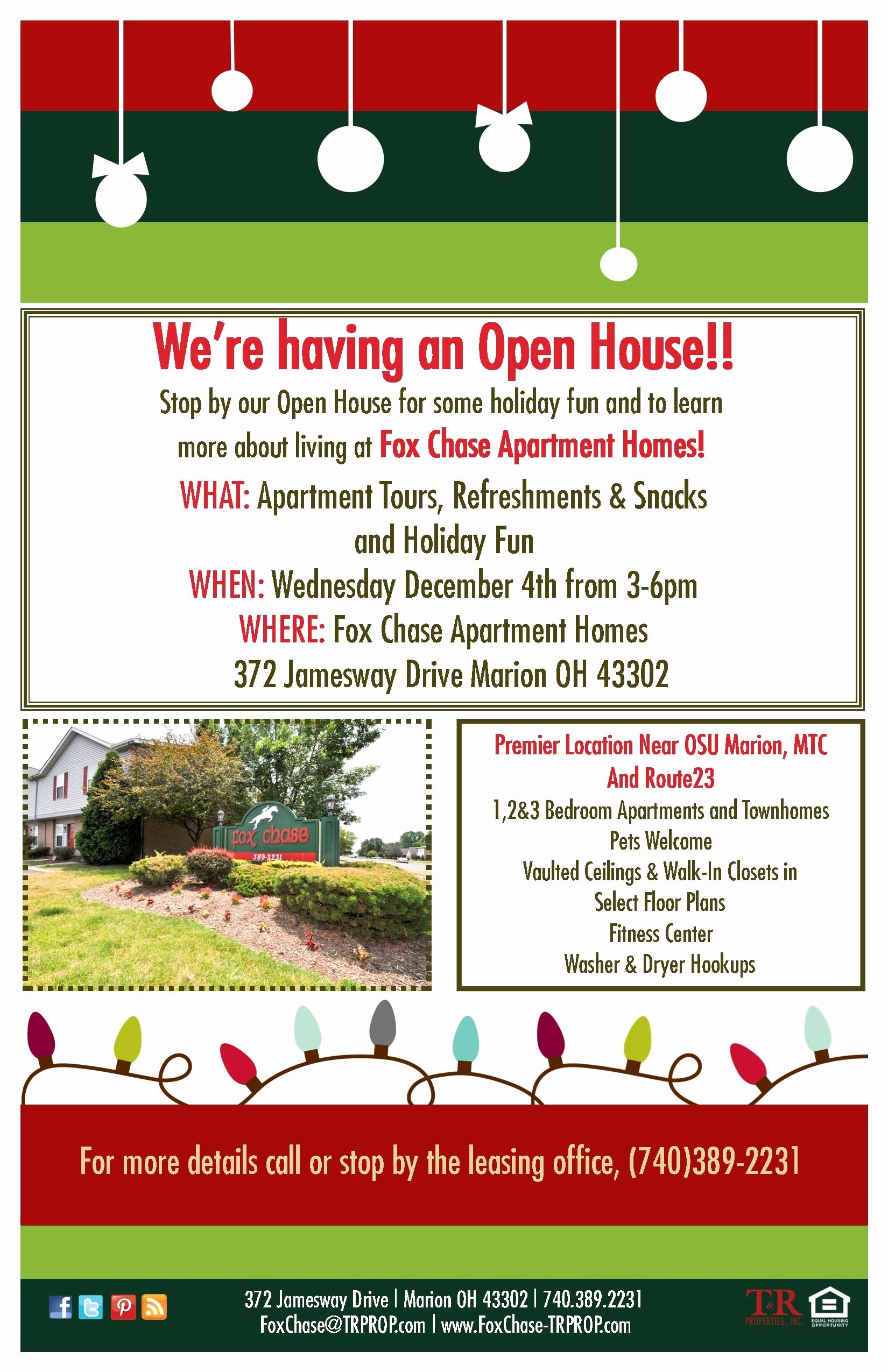 Business Open House Flyer Elegant Pin by T&r Properties On Apartment Open Houses