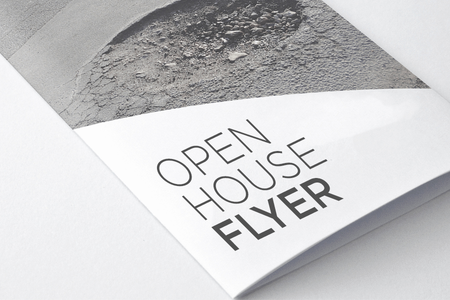 free open house flyer template downladable customizable real estate template