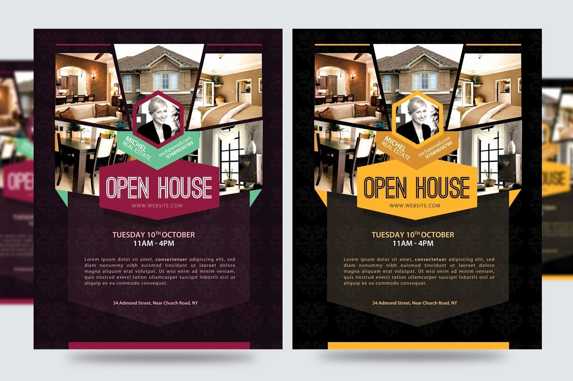 Business Open House Flyer Lovely Open House for New Building Flyer Google Search Marketing Materials Pinterest
