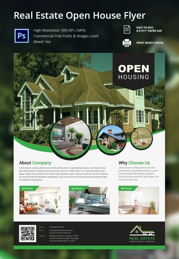 Business Open House Flyer Unique 67 Business Flyer Templates – Free Psd Illustrator format Download