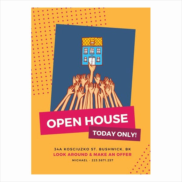 Business Open House Flyer Unique Free 49 Business Flyer Designs Word Psd Ai Publisher