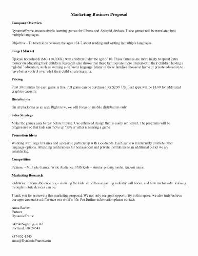 Business Partnership Proposal Sample Elegant 32 Sample Proposal Templates In Microsoft Word