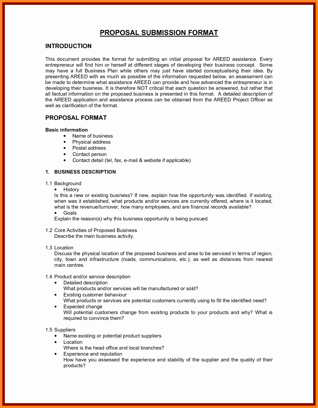 Business Partnership Proposal Sample Lovely 5 Business Proposal format Template