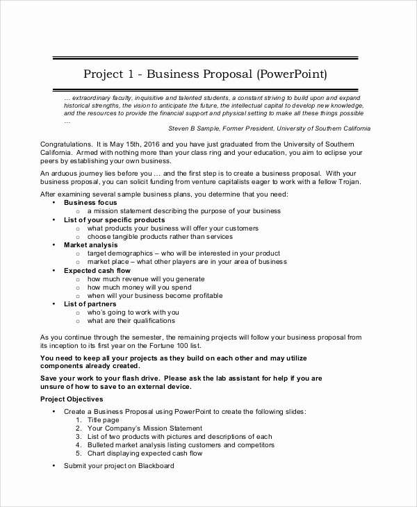 Business Partnership Proposal Sample Luxury Project Proposal Sample 12 Documents In Pdf Word