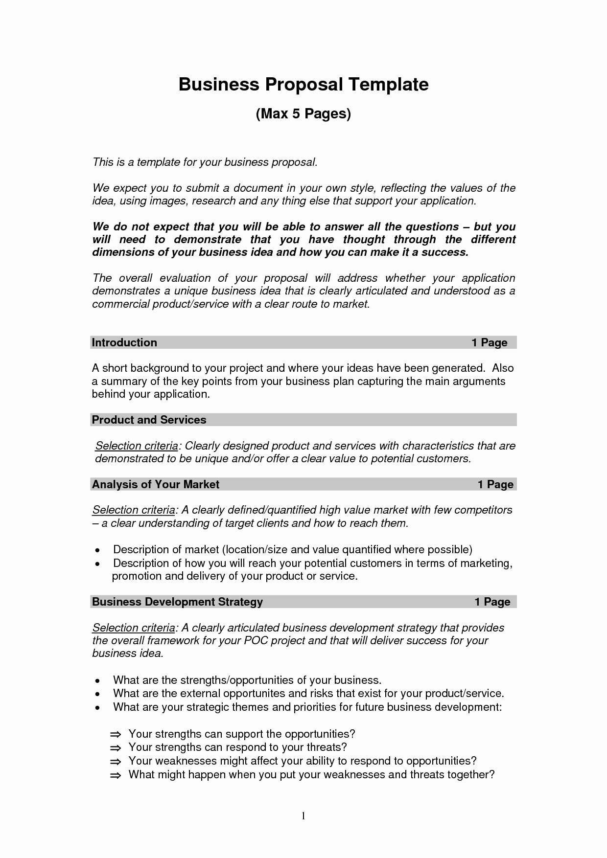 Business Proposal Example Pdf Fresh Free Printable Business Proposal form Generic