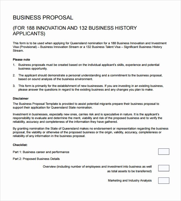 Business Proposal Example Pdf Fresh Sample Business Proposal 24 Documents In Pdf Word