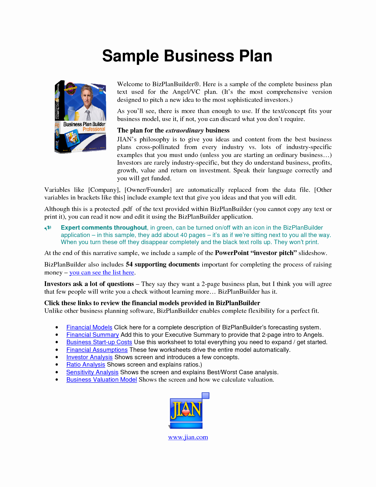 Business Proposal Example Pdf Lovely Free Printable Business Plan Sample form Generic