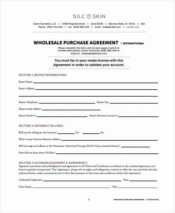Business Purchase Agreement Pdf Fresh 15 wholesale Agreement Templates Pdf Word Apple Pages