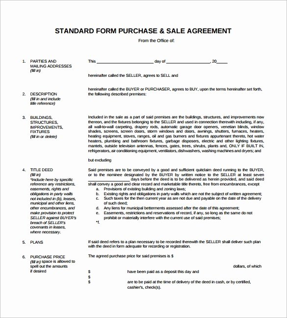 Business Purchase Agreement Pdf Fresh Free 17 Sample Downloadable Sales Agreement Templates In