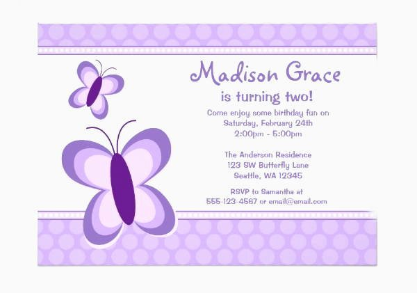 Butterfly Invitations Templates Free Elegant 8 butterfly Invitations Free Printable Psd Ai Eps