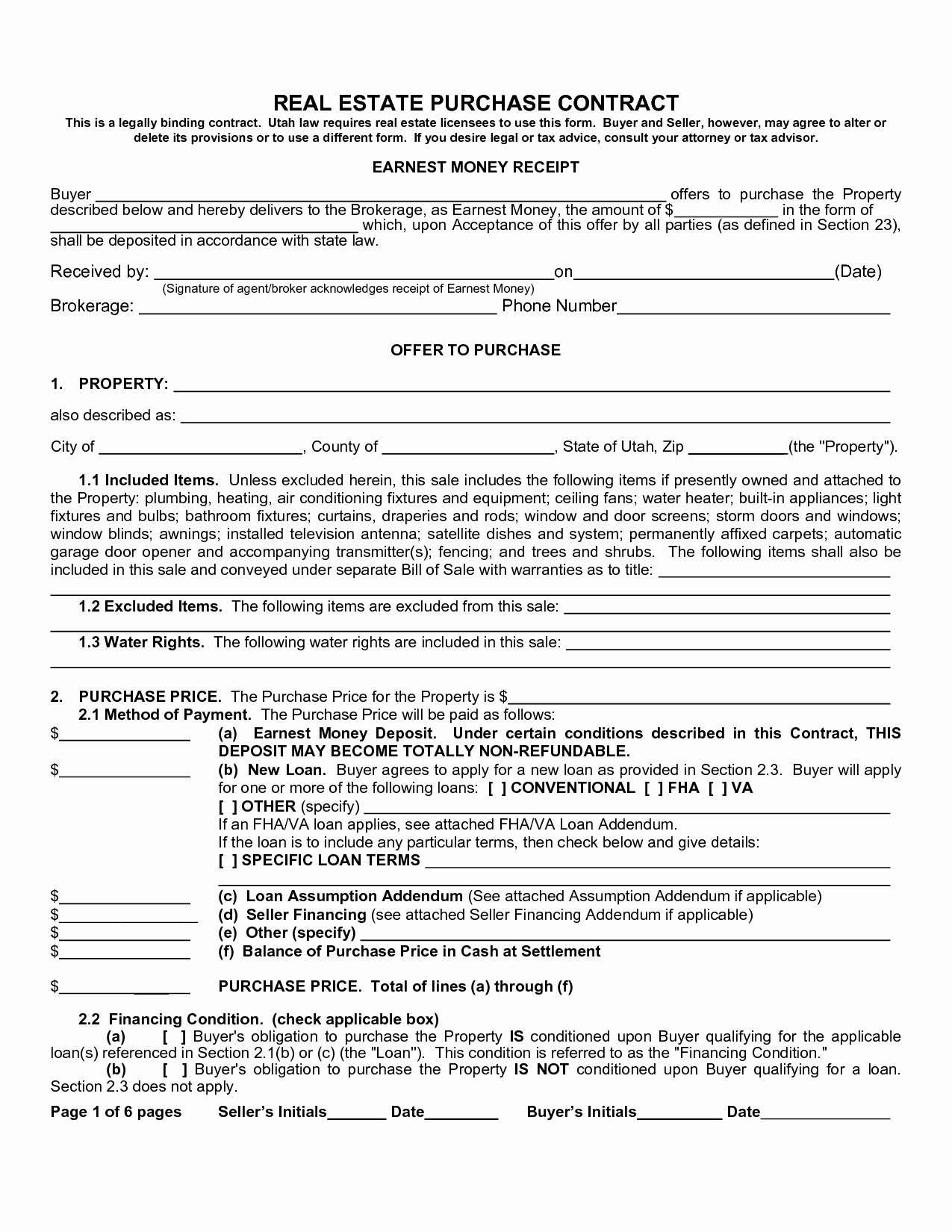 Buy Sell Agreements forms New Free Real Estate Purchase Agreement form Free Printable Documents