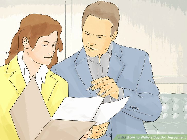 Buy Sell Agreements forms New How to Write A Buy Sell Agreement with Wikihow