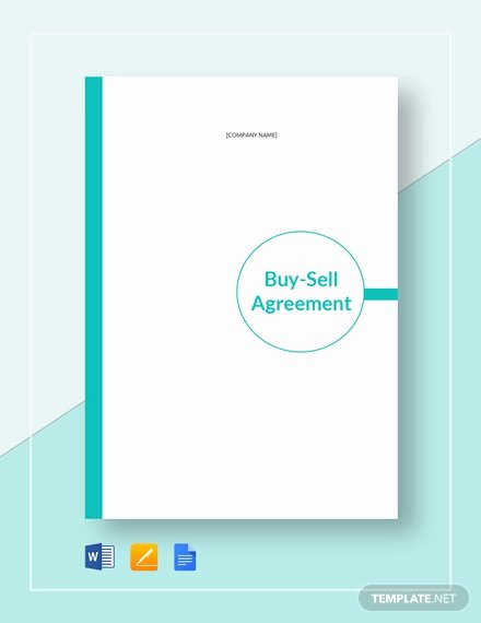 Buyout Agreement Template Free Beautiful 25 Buy Sell Agreement Templates Word Pdf