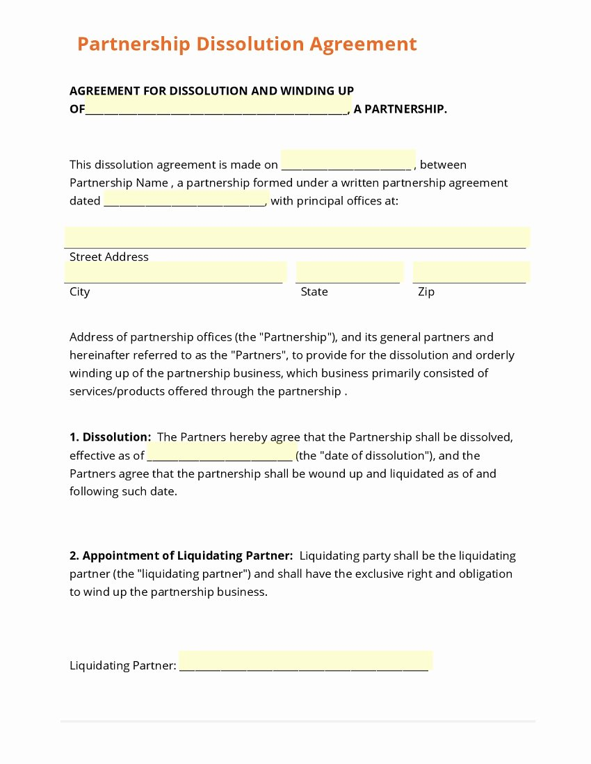 Buyout Agreement Template Free Inspirational Business Partner Buyout Agreement Template Special Business form Template Gallery Vi B