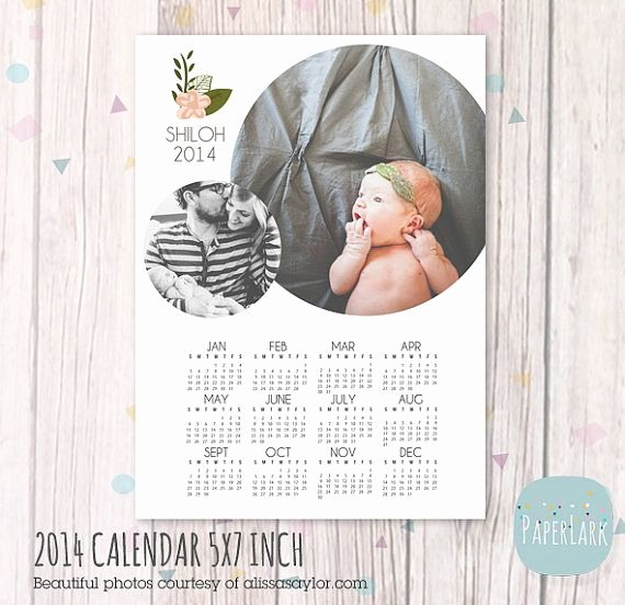 Calendar Template for Photoshop Best Of Family 2014 Calendar Shop Template by Paperlarkdesigns Design Inspiration
