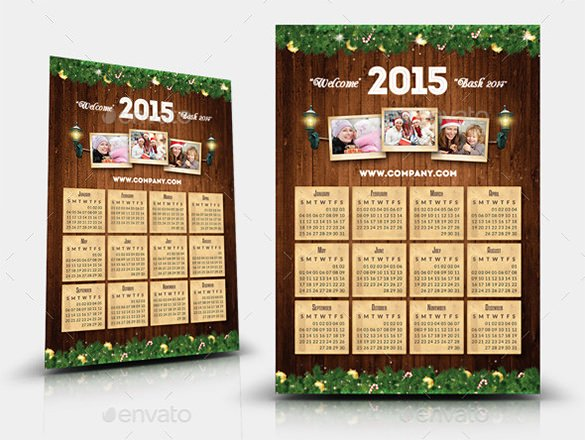 Calendar Template for Photoshop Elegant 20 Psd Calendar Templates & Designs