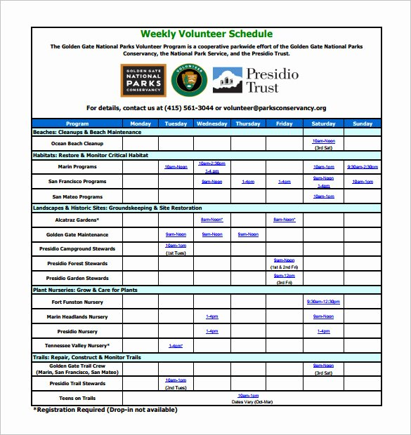 Call for Volunteers Template New 10 Volunteer Schedule Templates Psd Docs