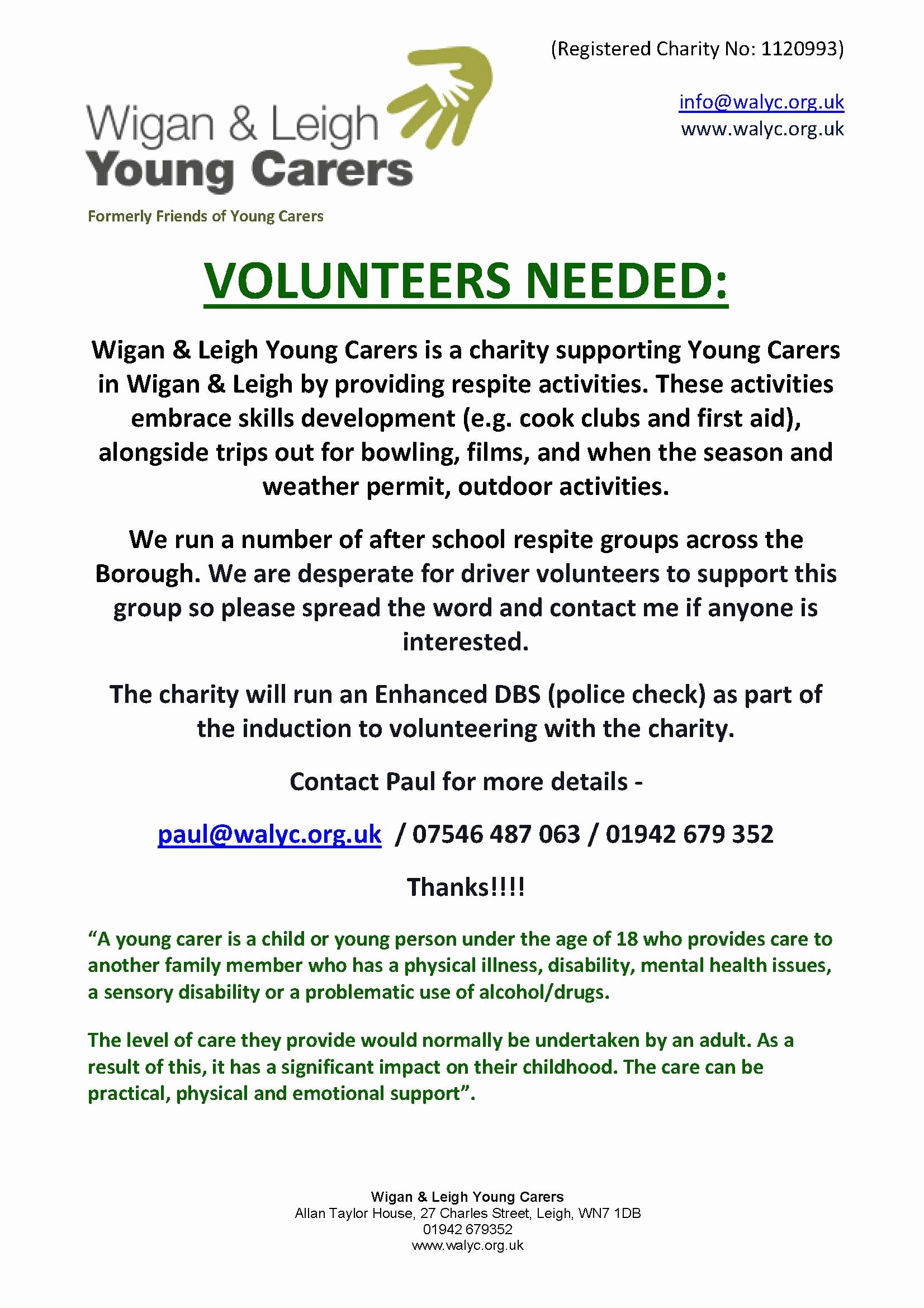Call for Volunteers Template New Call for Volunteers