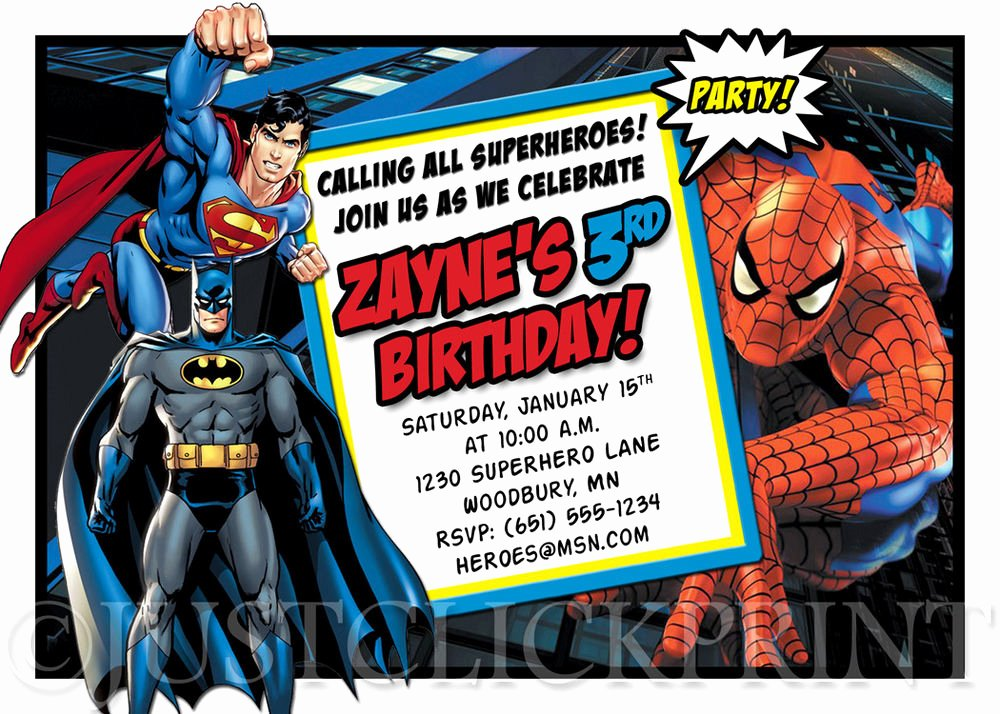 Calling All Superheroes Invitation Unique Calling All Superheroes Ic Book Birthday