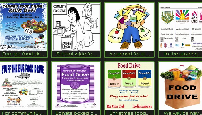 Can Food Drive Flyer Beautiful 5 Canned Food Drive Flyer Templates