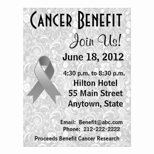 Cancer Benefit Flyer Ideas Elegant 15 Best Fundraiser Benefit Flyers for Cancer and Health Awareness Images On Pinterest
