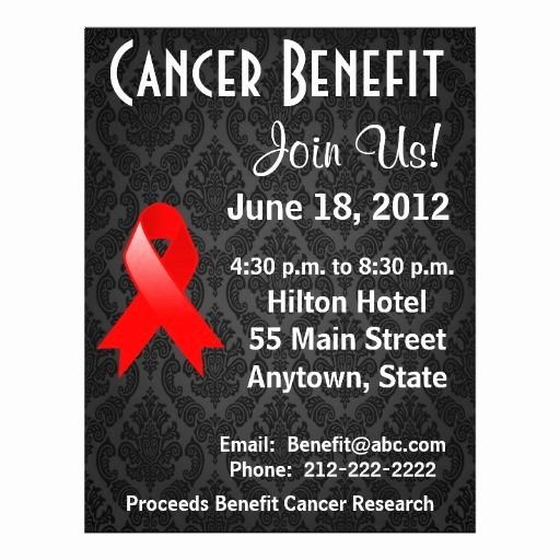 Cancer Benefit Flyer Ideas Inspirational 15 Best Fundraiser Benefit Flyers for Cancer and Health Awareness Images On Pinterest