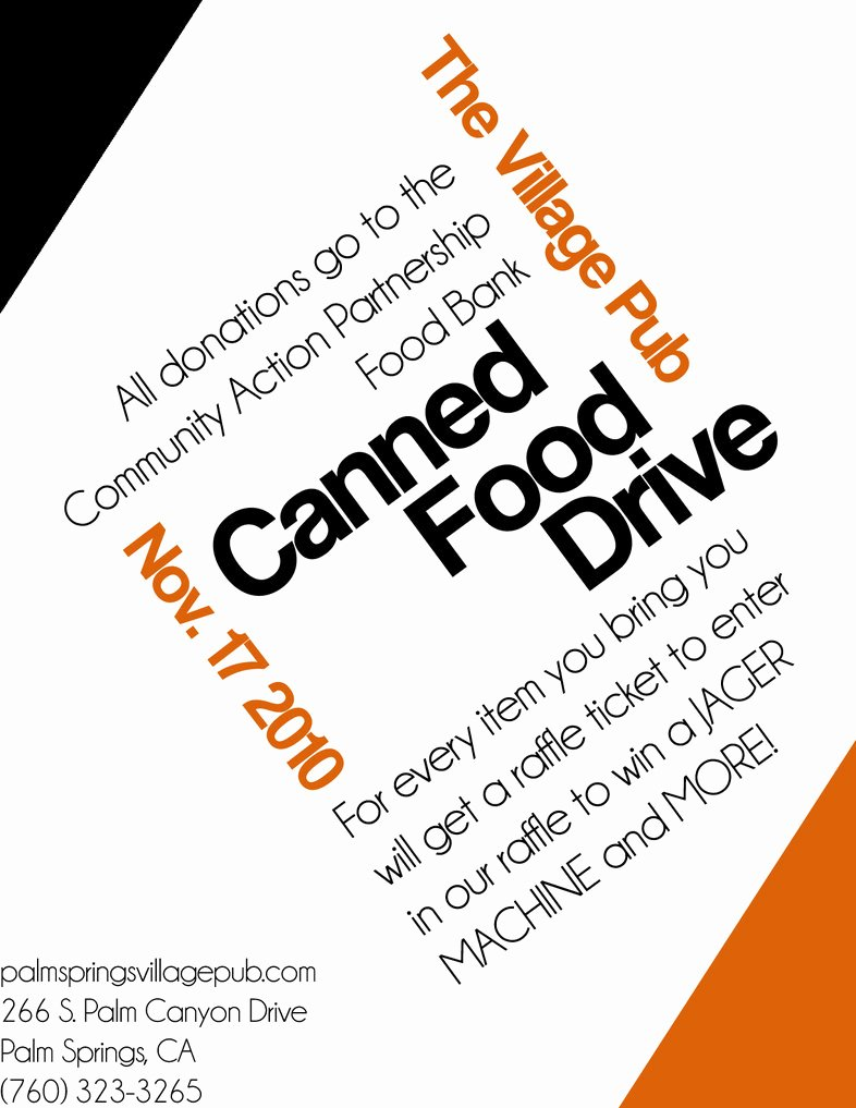 Canned Food Drive Flyer Best Of Canned Food Drive Web Flyer by Aeroscythe10 On Deviantart