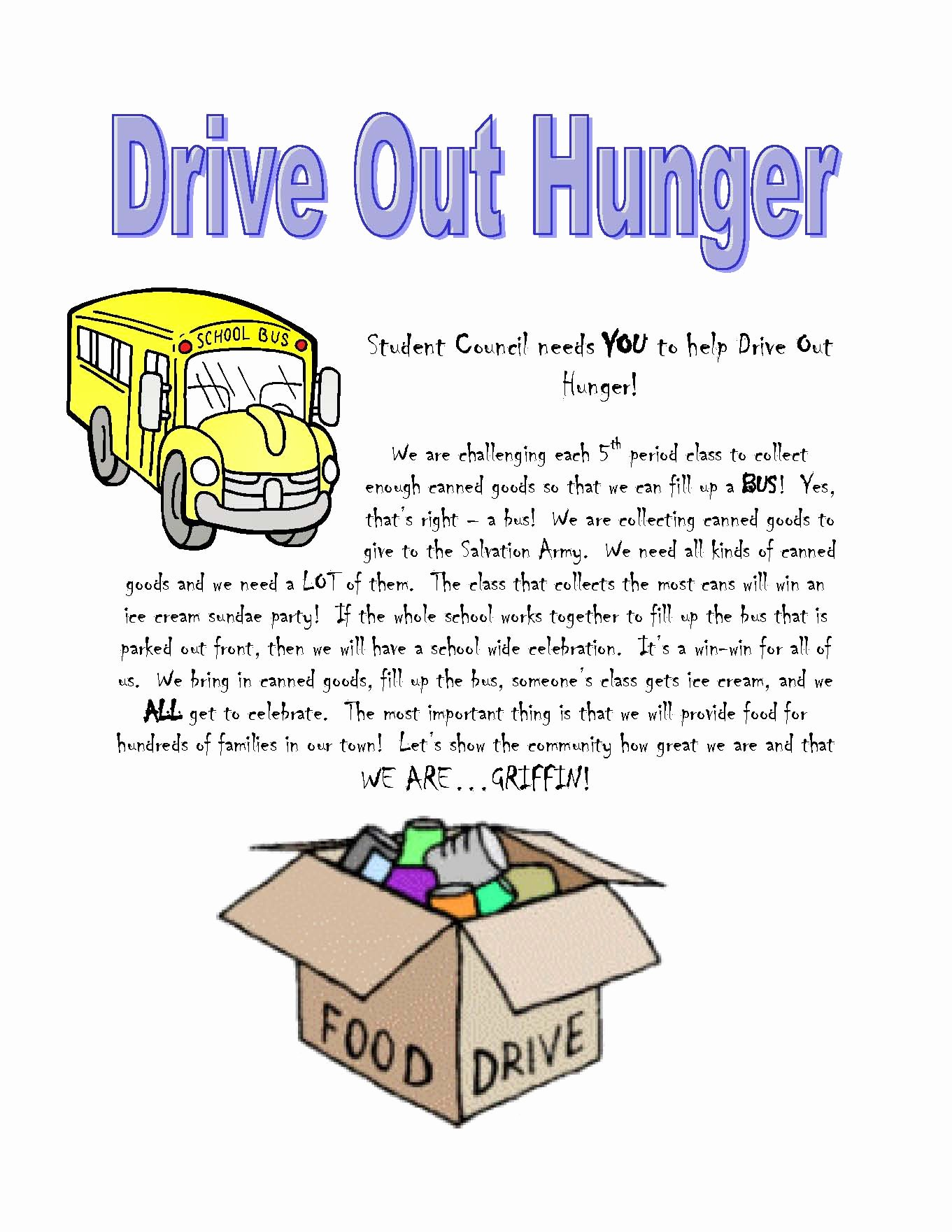 Canned Food Drive Flyer Inspirational Can Food Drive Quotes Quotesgram