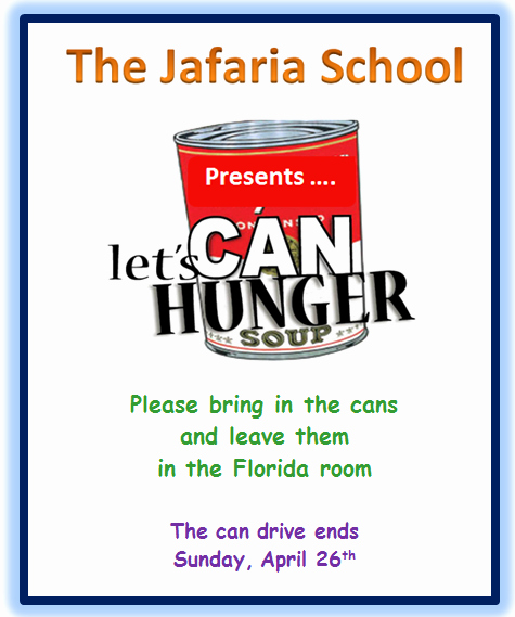 Canned Food Drive Flyer Inspirational Food Drive
