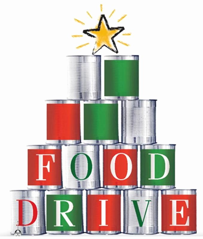 Canned Food Drive Flyer Lovely Holiday Food Drive Becuo