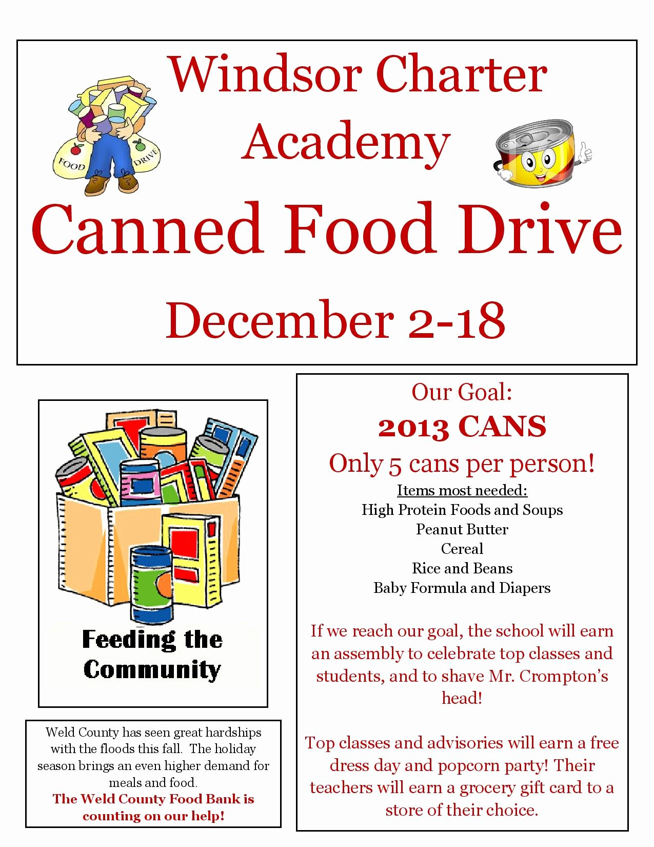 Canned Food Drive Flyer New Can Food Drive Flyer Template to Pin On Pinterest Pinsdaddy