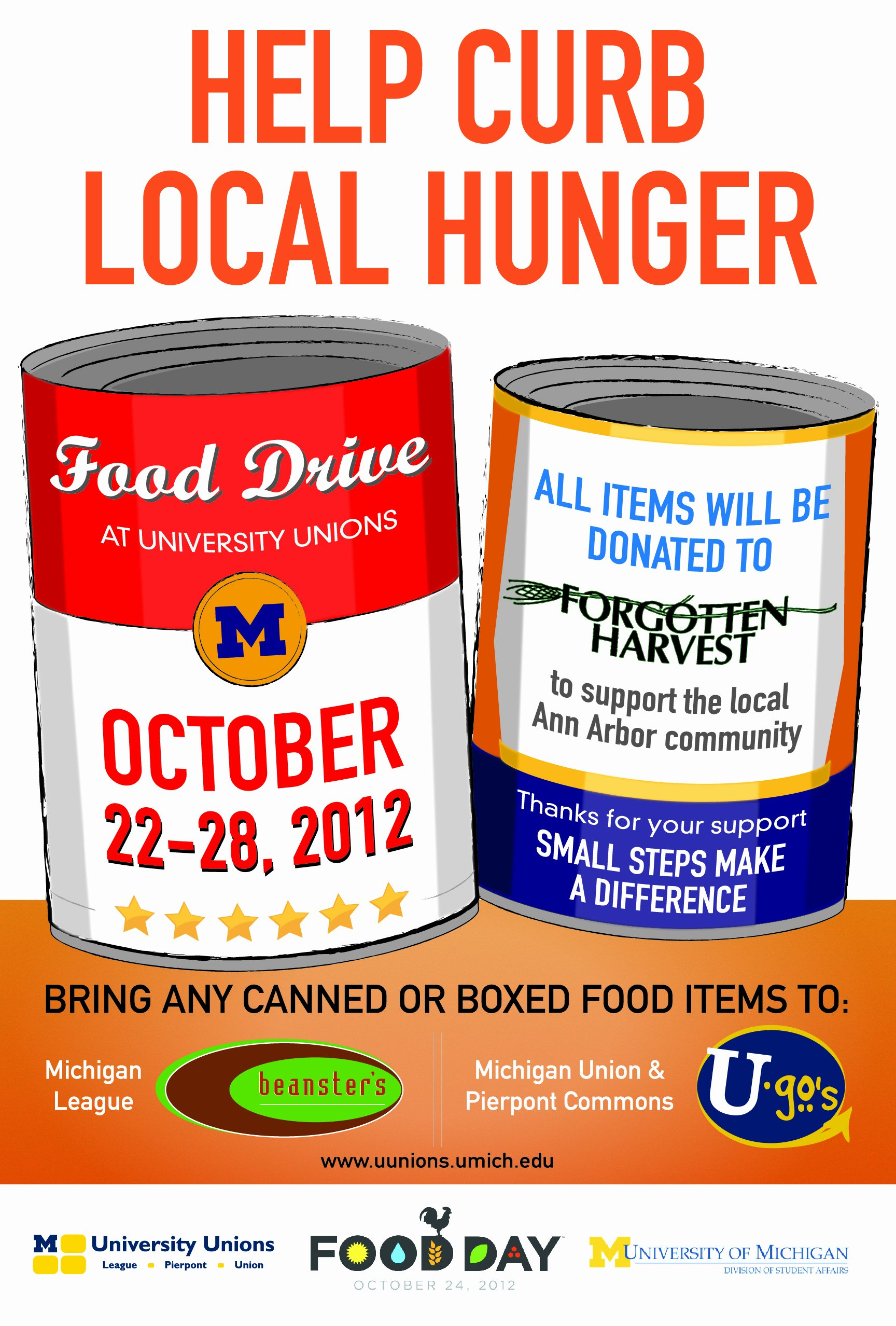 Canned Food Drive Flyer Template Best Of Celebrate Food Day Oct 22 26