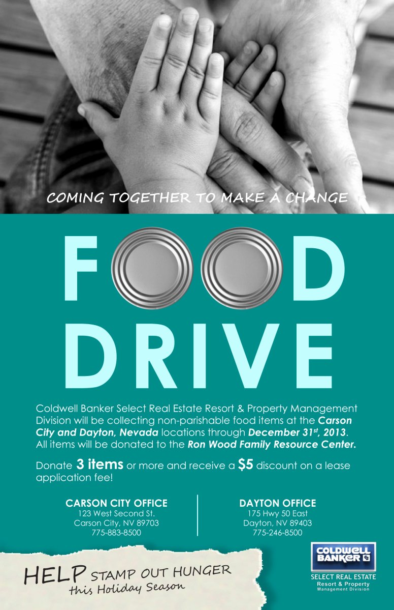 Canned Food Drive Flyer Template New Food Drive Flyer