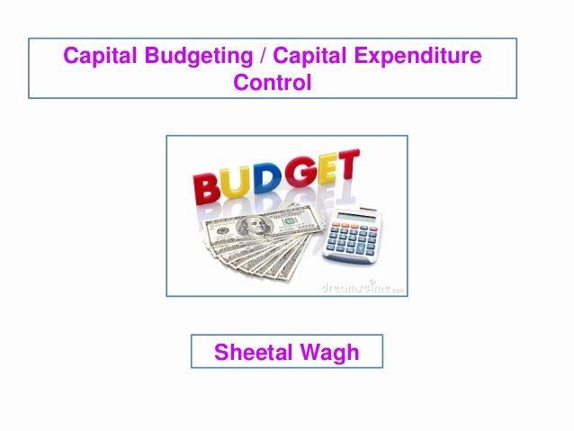 Capital Expenditure Budget Example Lovely Capital Bud Ing