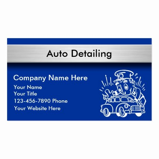 Car Detailing Business Cards Best Of Auto Detailing Business Cards