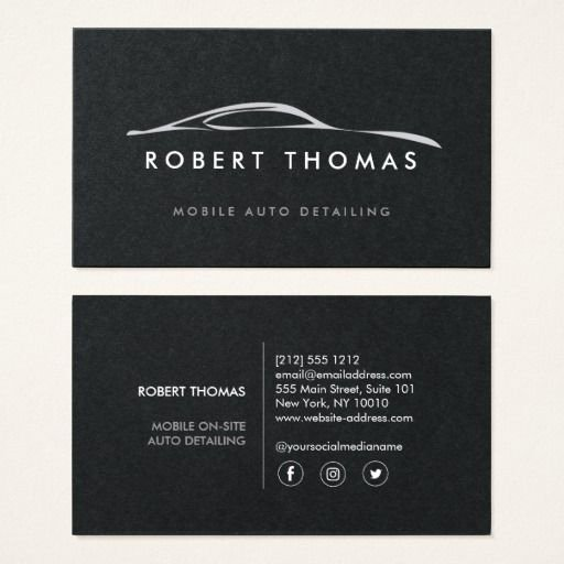 Car Detailing Business Cards Fresh 311 Best Auto Repair Business Cards Images On Pinterest