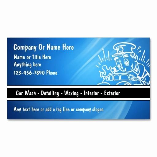 Car Detailing Business Cards Inspirational Auto Transport Business Cards