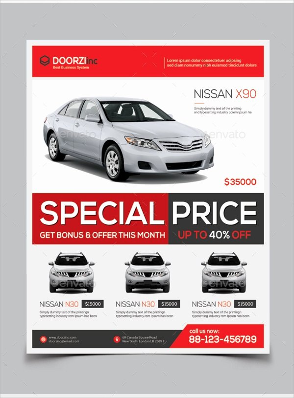 Car for Sale Template Free Awesome 16 Car for Sale Flyer Templates Ai Psd Word Eps Vector
