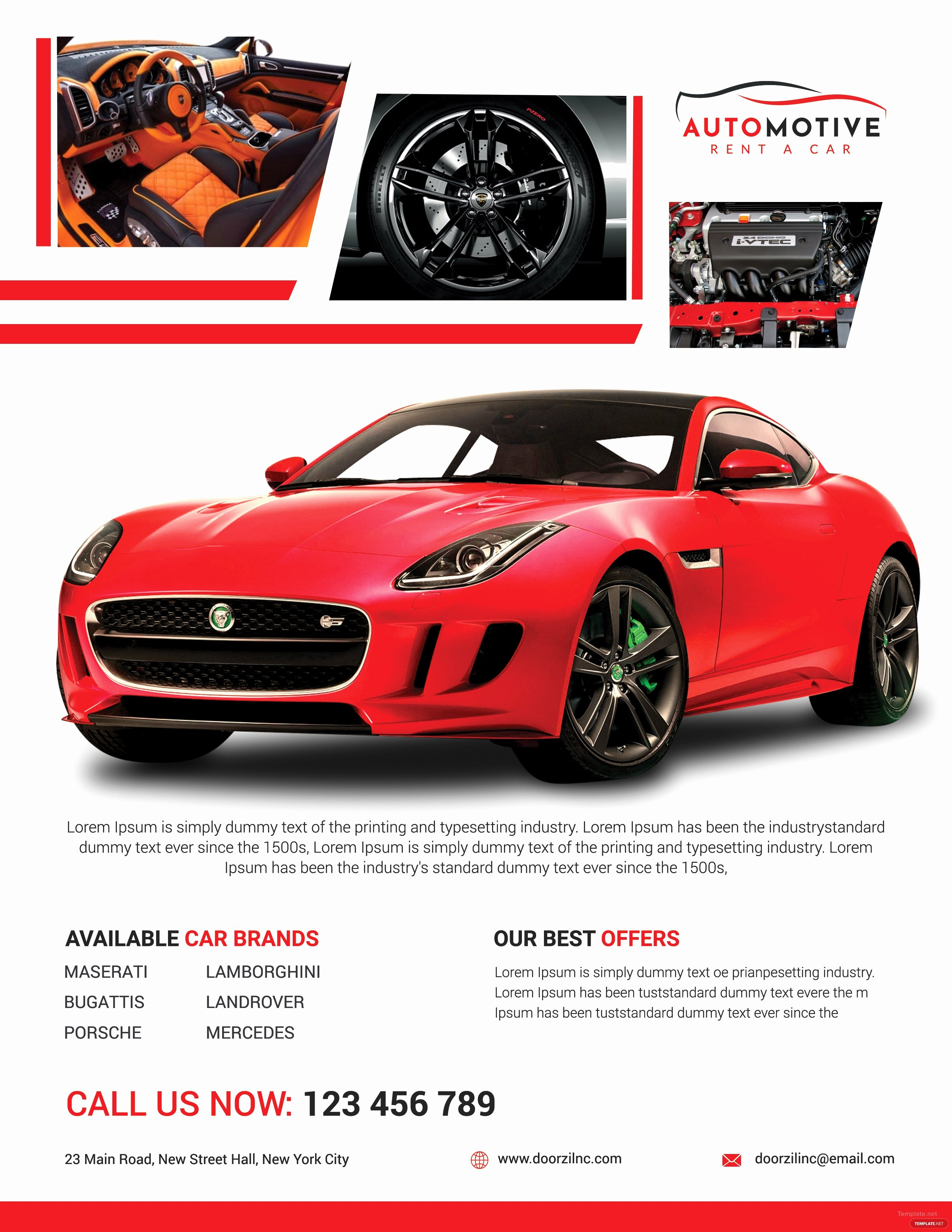 Car for Sale Template Free Fresh Car Sales Flyer Template In Adobe Shop Illustrator Microsoft Word Publisher Apple Pages