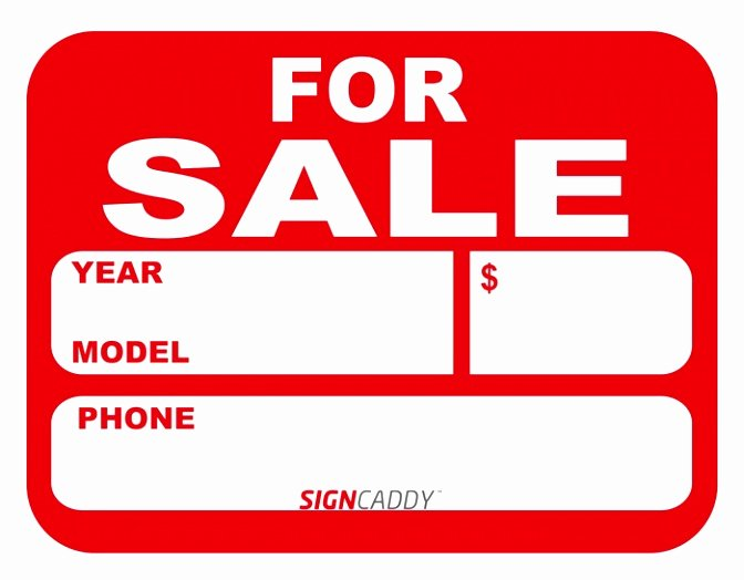 Car for Sale Template Free Unique 9 Printable Car for Sale Sign Template Aytey