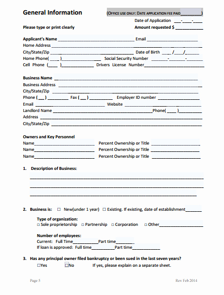 Car Loan Application form Pdf Awesome 9 Business Loan Application form Templates Pdf