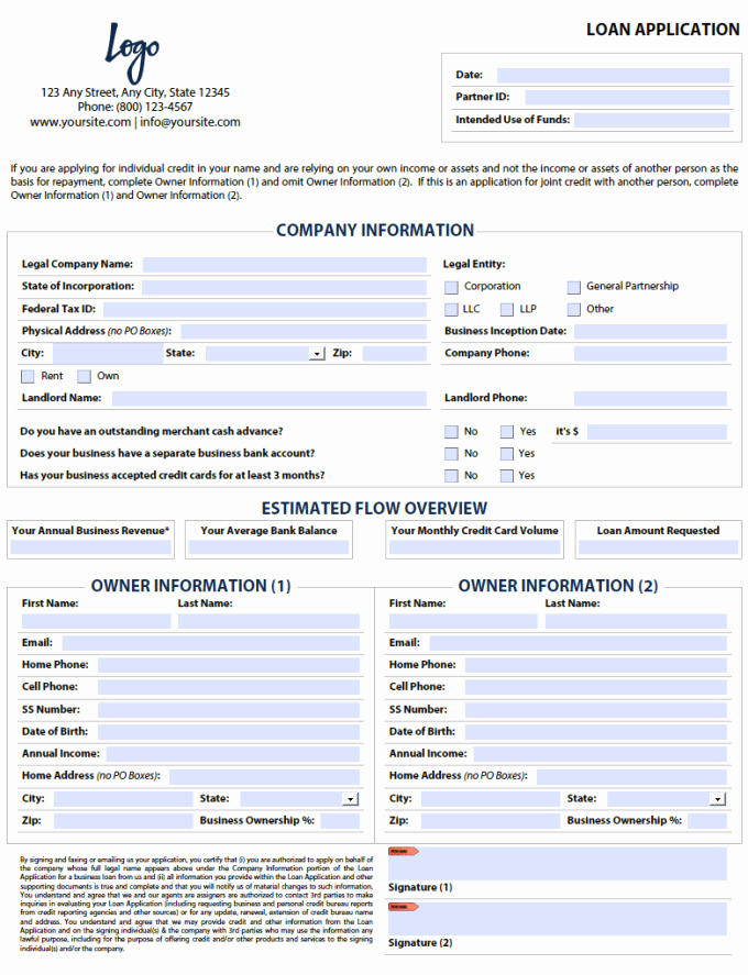 Car Loan Application form Pdf New Give You A Fillable Pdf Business Loan Application form by Pdfhelper