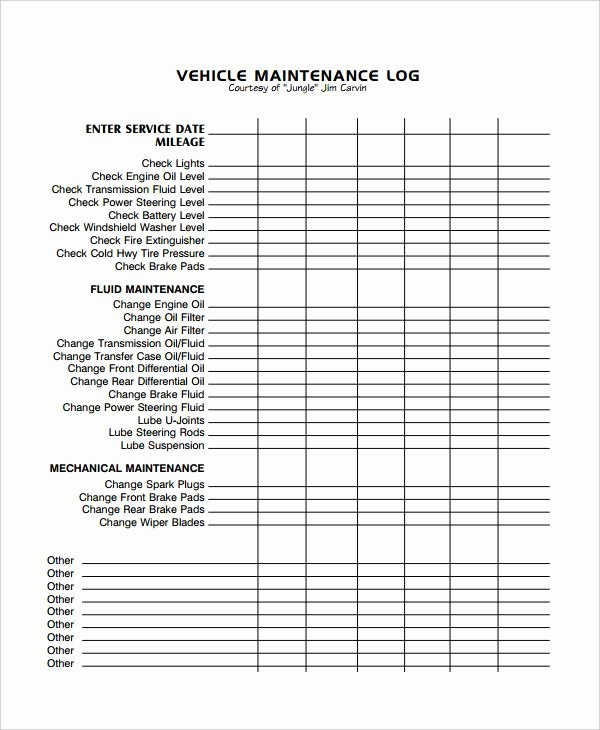 Car Maintenance Schedule Template Beautiful Image Result for Excel Vehicle Maintenance Log Vehicle Maintenance
