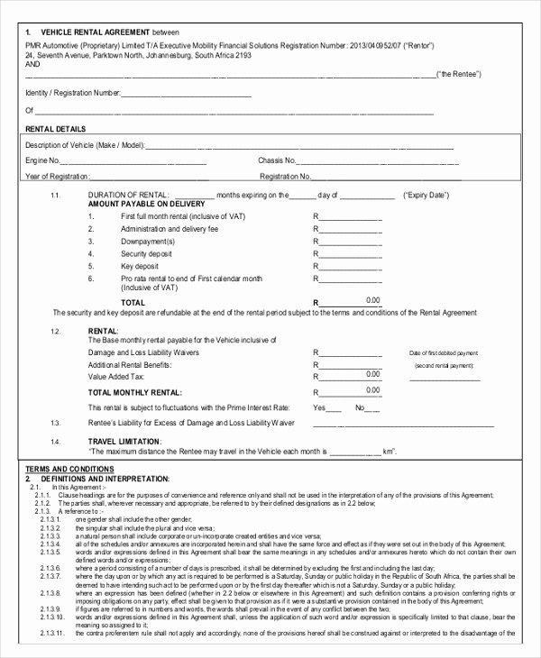 Car Rental Agreement form Beautiful 18 Car Rental Agreement Templates Free Word Pdf Apple Pages Google Docs format Download